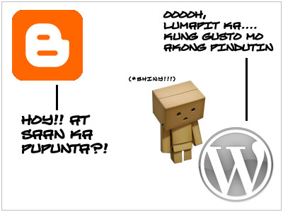 Danboard moves to WordPress